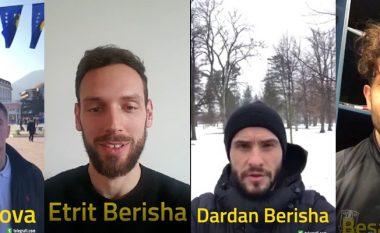 Yjet e sportit urojnë Kosovën për 10-vjetorin e pavarësisë (Video)