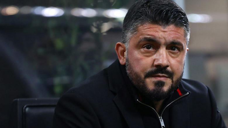 during the TIM Cup match between AC Milan and SS Lazio at Stadio Giuseppe Meazza on January 31, 2018 in Milan, Italy.
