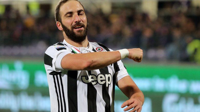 Juventusi shton epërsinë, Higuain përsëri shënon (Video)