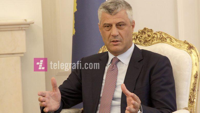 """Thaçi për Reuters: Pres që të arrijmë një marrëveshje """"historike"""" me Serbinë këtë vit"""