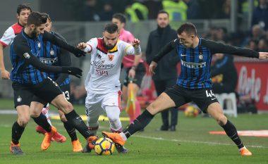 E çuditshme, por e vërtetë: Lojtarët e Interit kanë po aq paraqitje sa ata të Beneventos në Ligën e Kampionëve
