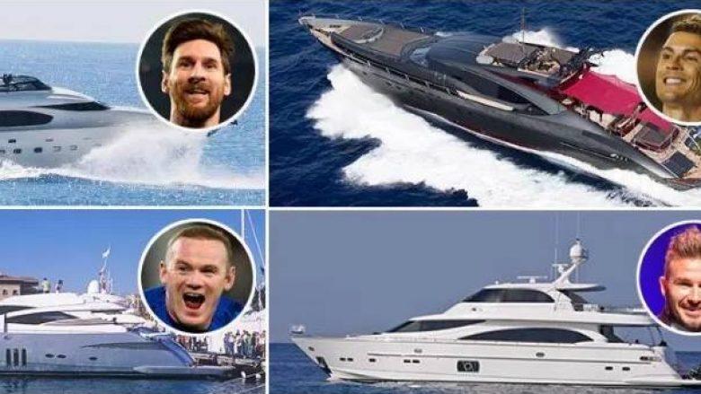 Brenda jahteve luksoze që janë në pronësi të yjeve dhe presidentëve të klubeve në botën e futbollit