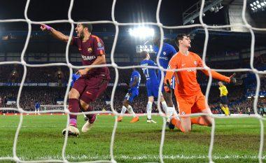 Suarez festën e golit të Messit ia dedikoi gjyqtarit anësor, por për këtë u ndëshkua