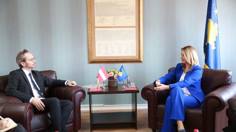 Hoxha: Austria, partner i fuqishëm i Kosovës