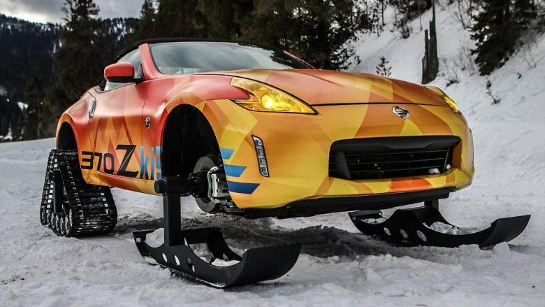 Modelin sportin 370Z, Nissan e kthen në makinë për të gjitha terrenet me borë (Foto)
