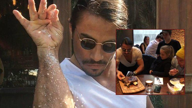 Beckham dhe fëmijët e tij të magjepsur nga arti i gatimit të Nusretit: Ishte një kënaqësi të të njihja dhe një përvojë mbresëlënëse