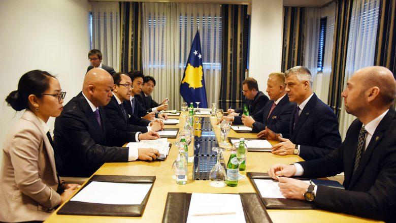 Thaçi kërkon më shumë investitorë japonezë në Kosovë