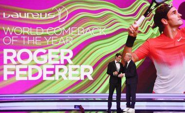 Çmimet Laureus: Federer, sportisti i vitit - Totti merr çmim karriere