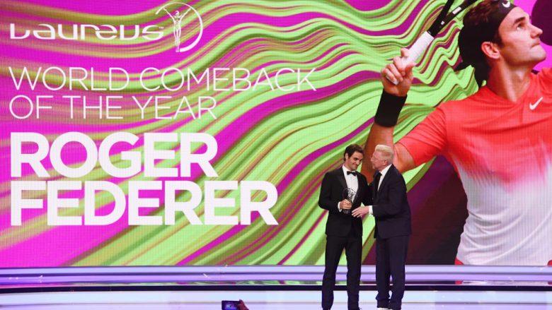 Çmimet Laureus: Federer, sportisti i vitit – Totti merr çmim karriere
