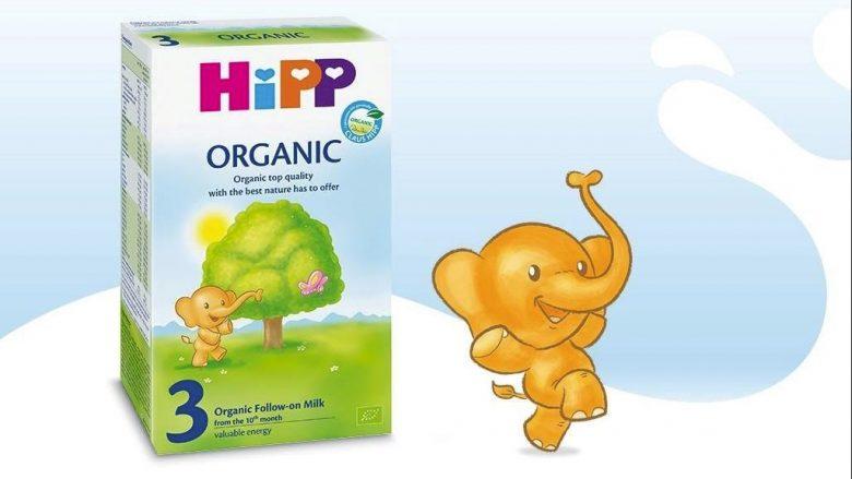 Ushqimet e qumështit HiPP BIO, të shëndetshme dhe me vlera ushqyese