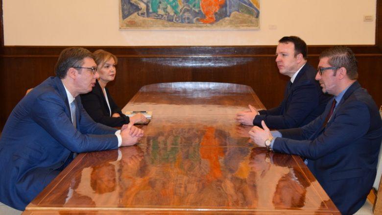 Mickoski-Vuçiq: Maqedonia dhe Serbia ndajnë vlera të përbashkëta