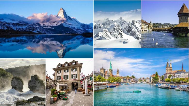Fotografitë që do t'jua shtojnë dëshirën për ta vizituar sa më parë Zvicrën