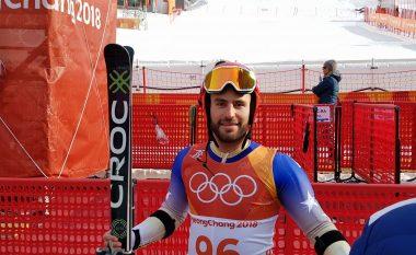 Albin Tahiri përfundon i 56-ti nga 110 garues në sllallom të madh