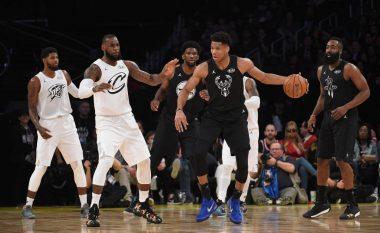 Skuadra e LeBronit fiton ndaj asaj të Curryt në 'All Star Game'