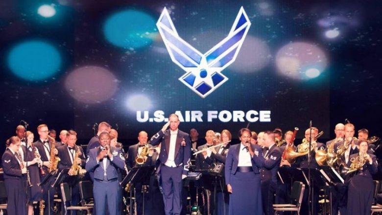 Ansambli i Forcave Ajrore të SHBA-së për Evropë, vjen në Kosovë për 10 vjetorin e Pavarësisë