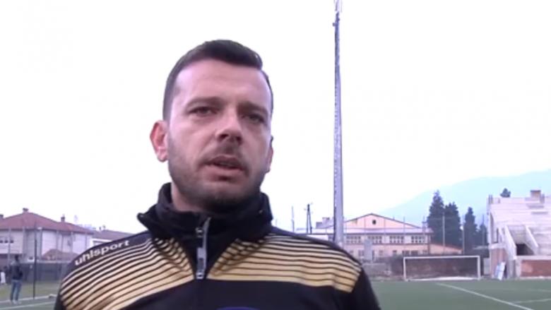 Bledi Shkëmbi i kënaqur me fazën përgatitore të futbollistëve të Lirisë (Video)