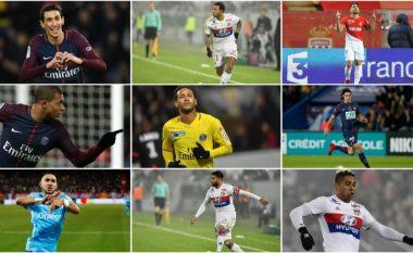 Top 30 futbollistët me pagat më të mëdha mujore në Ligue 1