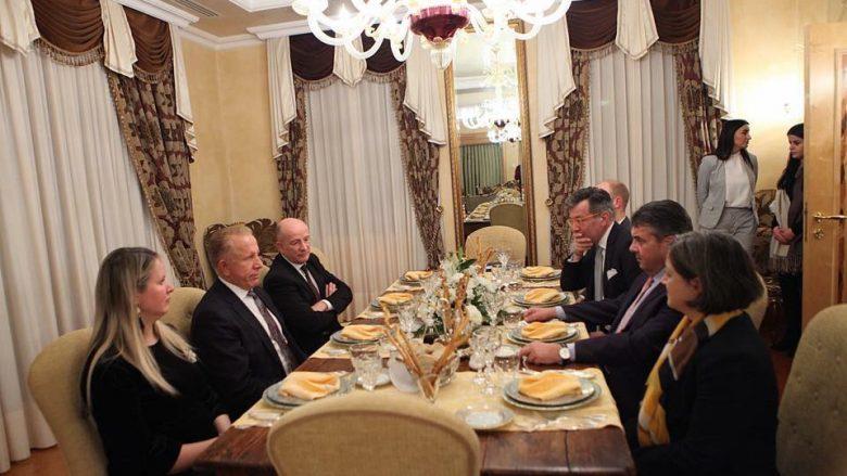 Pacolli shtroi darkë për shefin e diplomacisë gjermane