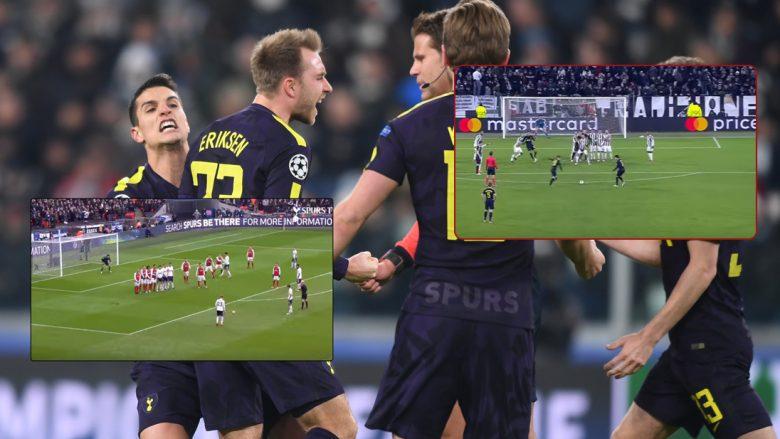 Intervenimi fantastik i Cech në derbin e Londrës, i kishte ndihmuar Eriksenit që t'i shënonte Buffonit