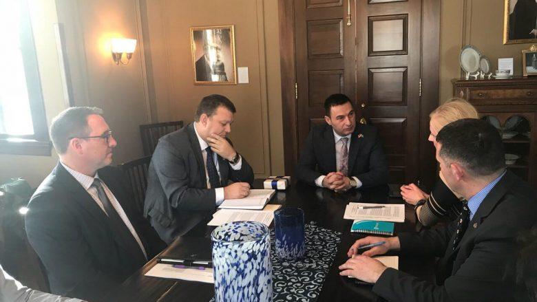 Ministri Bytyqi vizitoi dy universitete në Iowa
