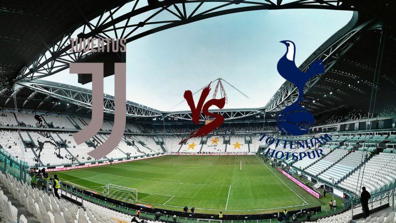 Formacionet zyrtare: Përballja e parë e të tetës së finales mes Juventusit dhe Tottenhamit