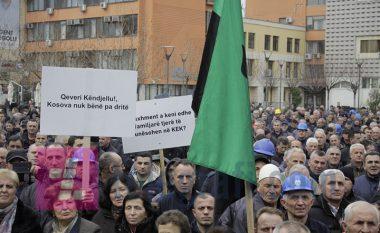 Punëtorët e KEK-ut në protestë