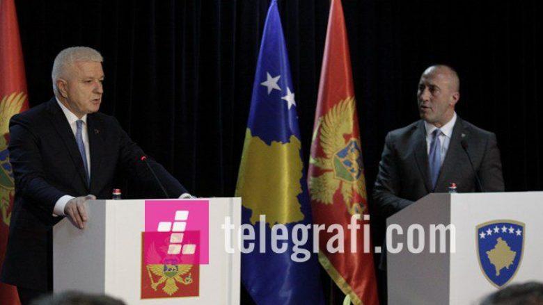 Konferenca e Haradinajt dhe kryeministrit të Malit të Zi (Video)
