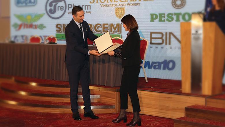 Meridian Express merr mirënjohje për kontributin e dhënë në zhvillimin ekonomik të Kosovës
