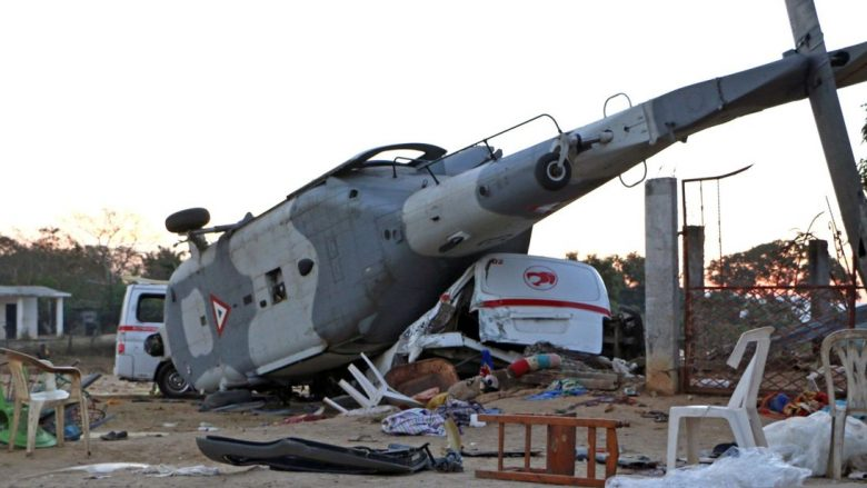 Rrezimi i helikopterit në Meksikë vret 13 persona