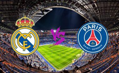 Formacionet zyrtare të superduelit ndërmjet Real Madridit dhe PSG-së