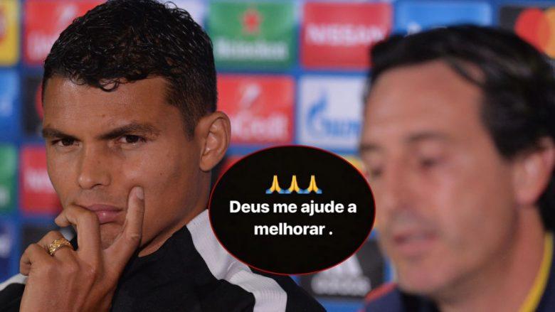 Thiago Silva i dëshpëruar që nuk startoi ndaj Realit, publikon një mesazh zhgënjyes