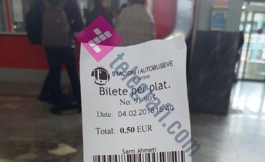 Pesëfishohet çmimi i taksës për hyrjen e qytetarëve në Stacionin e Autobusëve (Foto)