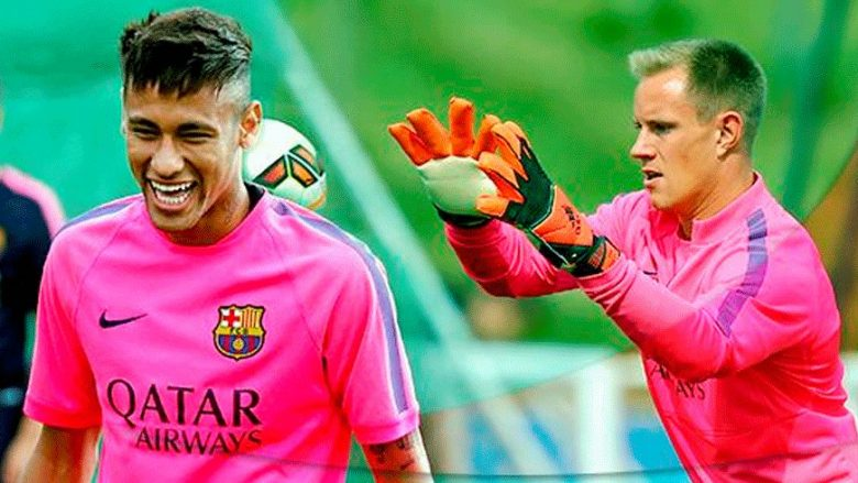 Image result for Ter Stegen Neymar