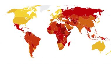 Indeksi i Perceptimit të Korrupsionit: Kosova me progres ndërsa Shqipëria përkeqësohet