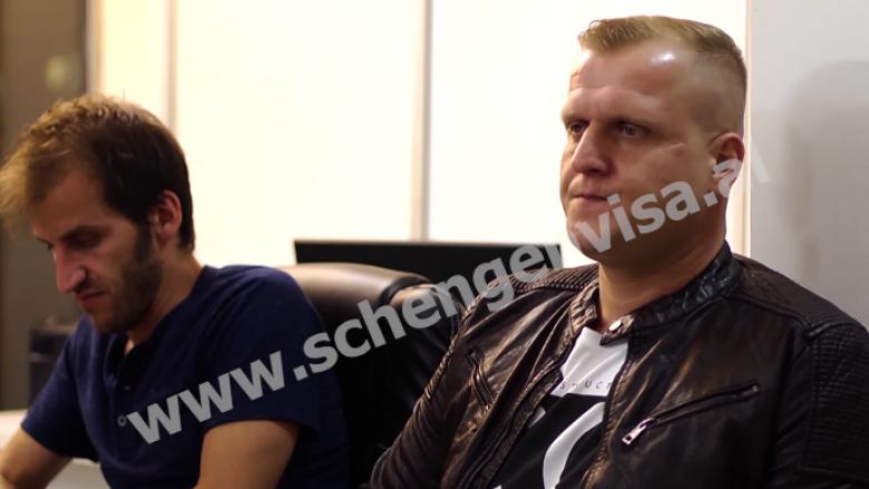 """""""Duke pritur në ambasadë"""", publikohet pilot episodi i ri i """"Schengen Visa"""" (Video)"""