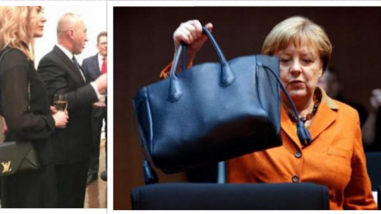 Angela Merkel me çantë pesë herë më të lirë se Anita, gruaja e kryeministrit Haradinaj
