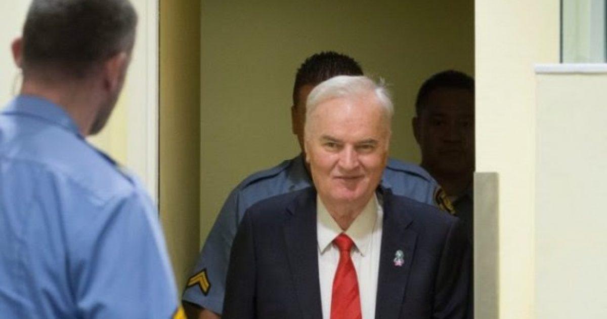 Mladiq apelon dënimin për krime lufte dhe gjenocid