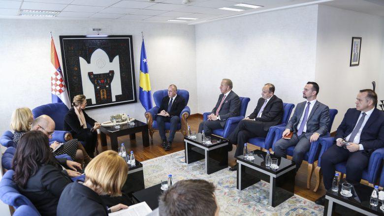 Haradinaj: Miqësi e partneritet afatgjatë me Kroacinë