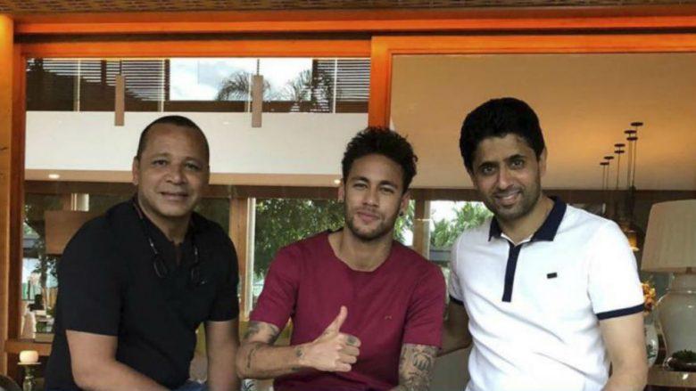Vjen deklarata e babait të Neymar që do t'i qetësojë tifozët e PSG-së: Ai do të qëndrojë