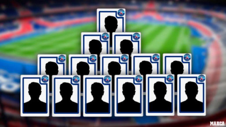 Paris Saint-Germain i ndarë në tri grupe që e kanë përçarë skuadrën – Brazilianët, francezët dhe latinët, por është një lojtar që i pajton