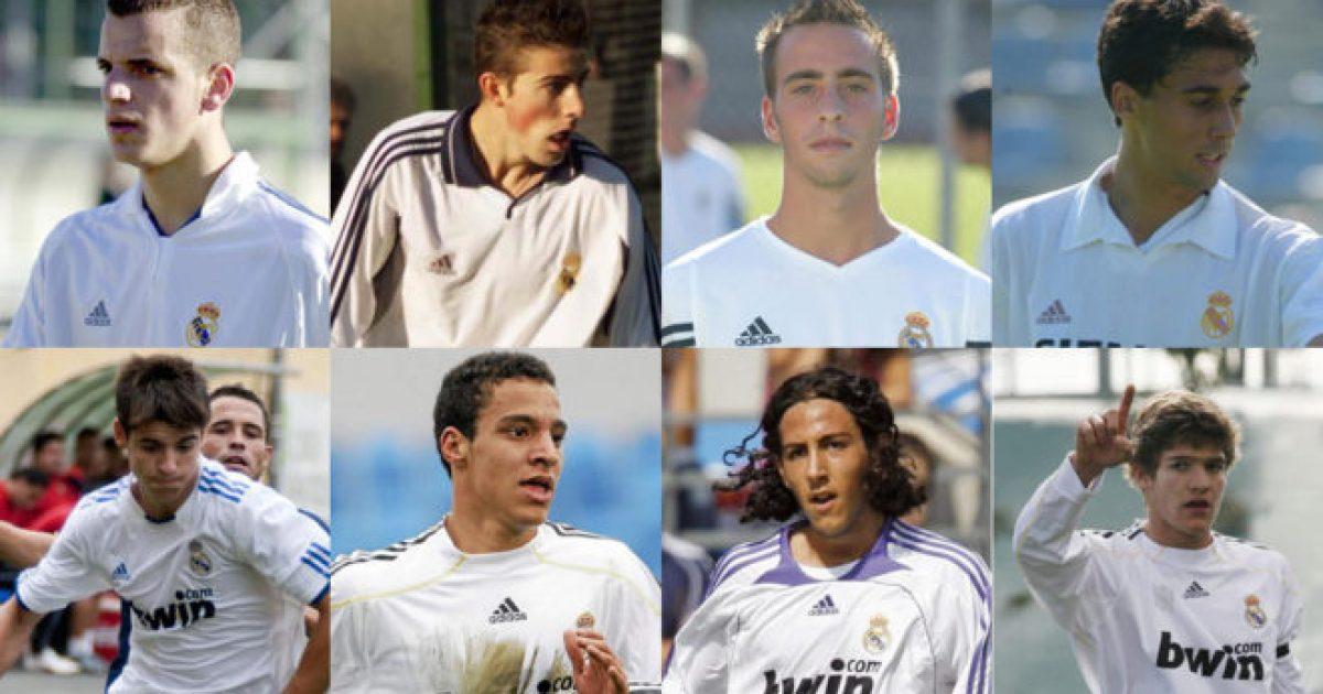 Reali Madridi i  prodhoi  si futbollistë dhe pastaj i liroi   Ata u kthyen në reprezentues të Spanjës
