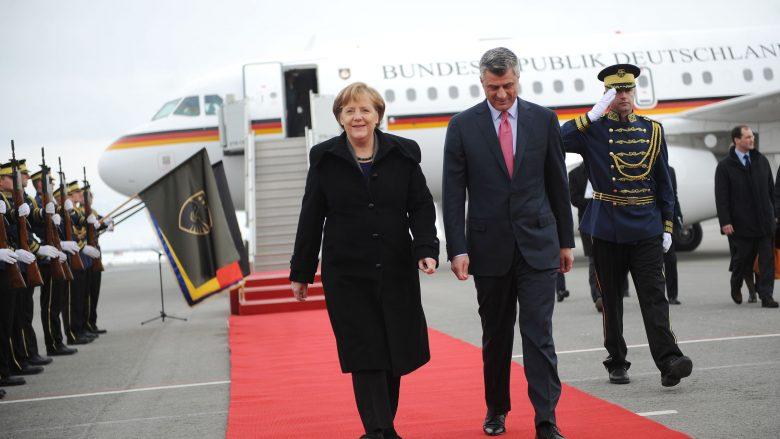Thaçi përshëndet zgjedhjen e Merkel për kancelare të Gjermanisë