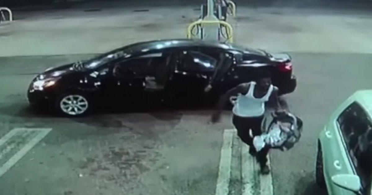 Vjedh veturën duke mos ditur se prapa ishte ulur foshnja  ndalet në pompën e derivateve për t ia lënë punonjëses