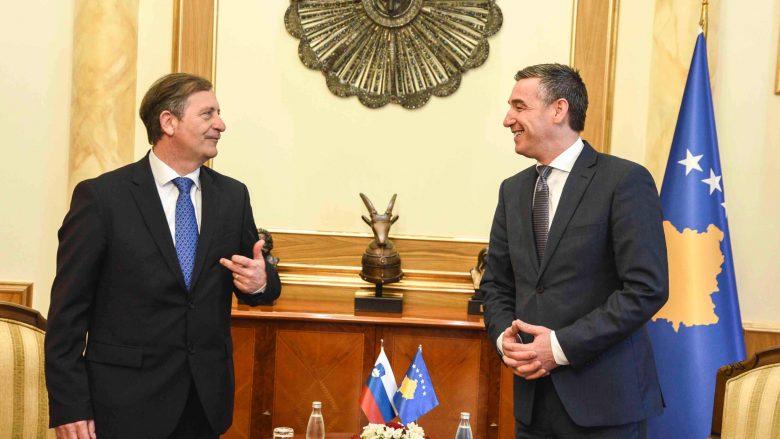 Sllovenia premton mbështetje për Kosovën