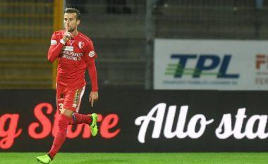 Lenjani shpërthen me dy gola spektakolar në Zvicër