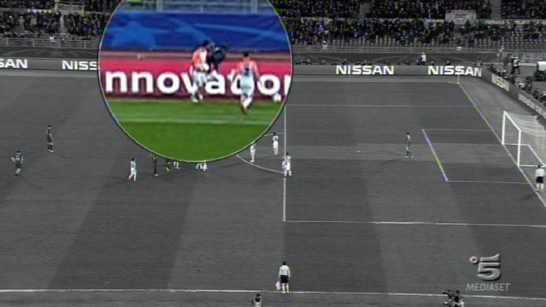 Momenti që mund t'iu ketë ikur nga ndeshja Roma – Shakhtar, lojtari i ukrainasve shtyn dhe rrëzon djaloshin e topave, krijon rrëmujë në fushë (Video)