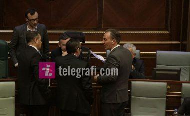 Veseli në konsulta me Hotin, Hoxhajn, Limajn dhe Shalën në Kuvend (Foto)