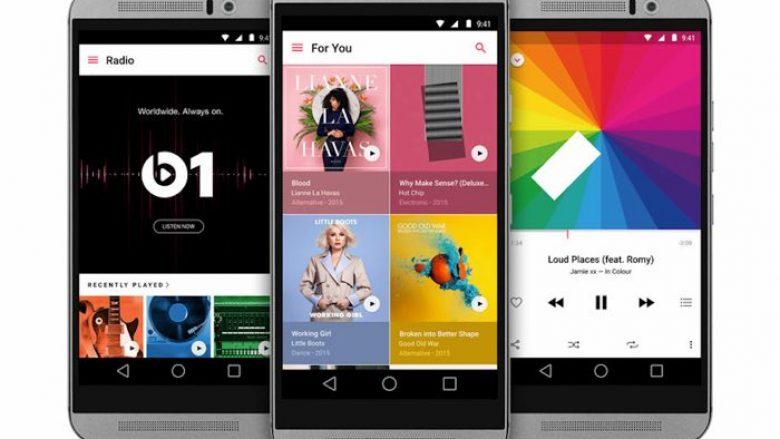 Apple sjell versionin e ri të Music për Android