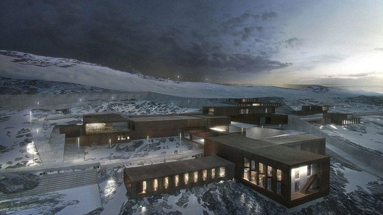 Burgu 'human' që ngjan me një resort luksoz skijimi (Foto)