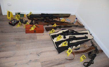 Në Mramor zbulohet arsenal armatimi dhe aparate lojërash të fatit (Foto)